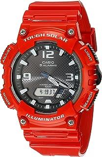 Men's AQ-S810WC-4AVCF Analog-Digital Display Quartz Red...