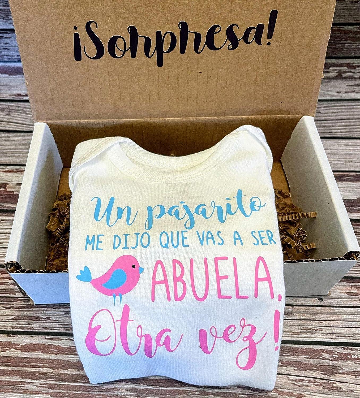 Un Free Shipping Cheap Bargain Gift Pajarito me dijo que vas a espanol OFFicial store Otra ser Abuela Vez esp