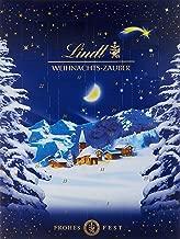 Lindt Weihnachts-Zauber Adventskalender (24 verschiedene Pralinés- und Milchschokoladen-Überraschungen) 265g