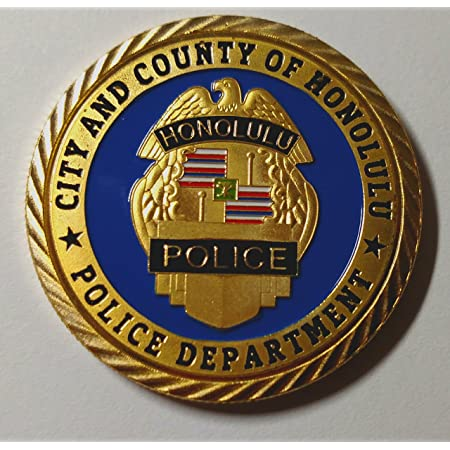 CITY OF NORTH LAS VEGAS POLICE DEPARTMENT OFFICERS CHALLENGE COIN
