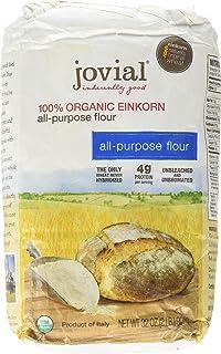 Jovial Einkorn Baking Flour   100% Organic Einkorn All Purpose Flour   High Protein   Non-GMO   USDA Certified Organic   D...