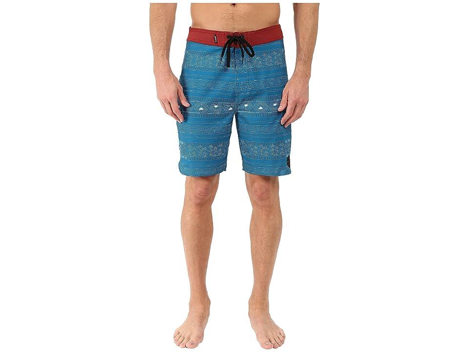 Rip Curl Mirage Cabana Boardshorts (Blue) Men