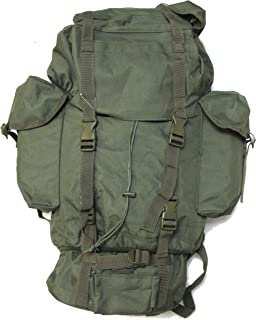 Backpack - Army Style Combat Rucksack - O.D. Green