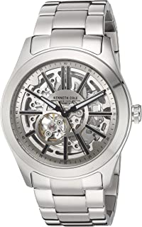 Men's Automatic-self-Wind Watch with Stainless-Steel Strap, Silver, 11 (Model: 10030815)