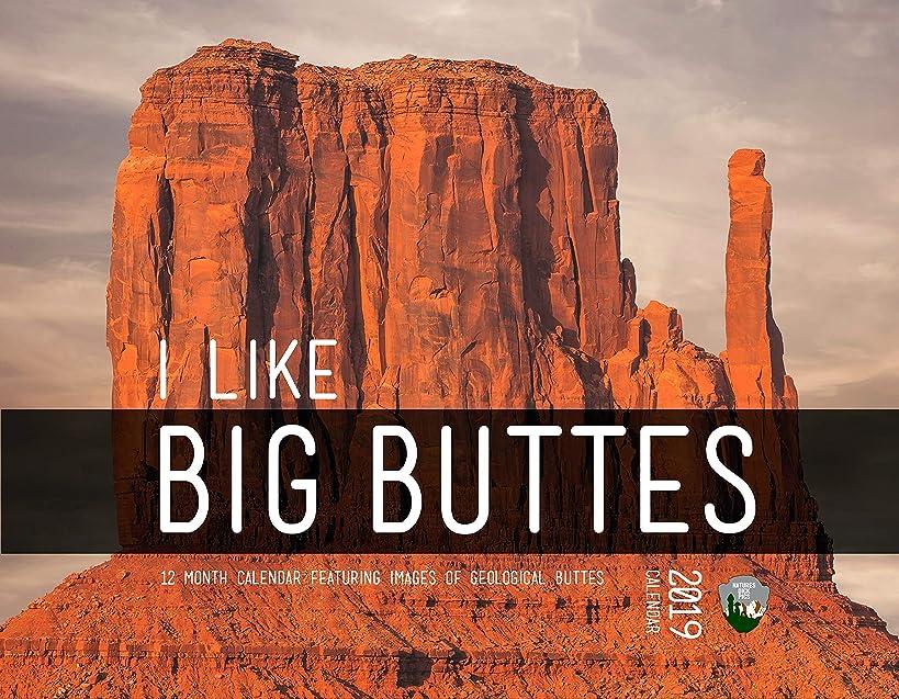 I Like Big Buttes 2019 Wall Calendar