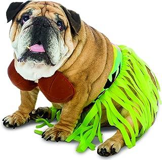 Rasta Imposta Funny Zelda Wisdom Hula Dog Pet Costume Halloween Bra Skirt Hawaii Hawaiian New