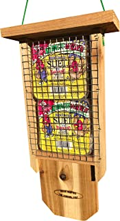 wood suet feeder