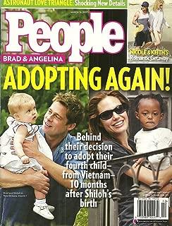 Brad Pitt & Angelina Jolie, Nicole Kidman & Keith Urban, Astronaut Love Triangle, Ben Affleck and Jennifer Garner - March 19, 2007 People Magazine