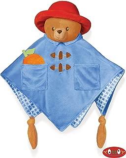 Paddington Bear Baby Cozy Blankie 13 inch - Baby Stuffed Animal by Yottoy (642)