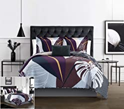 Chic Home Aello 3 Piece Quilt Set Large Scale Abstract Floral Pattern Print Bedding - Decorative Pillow Sham Included, Twi...