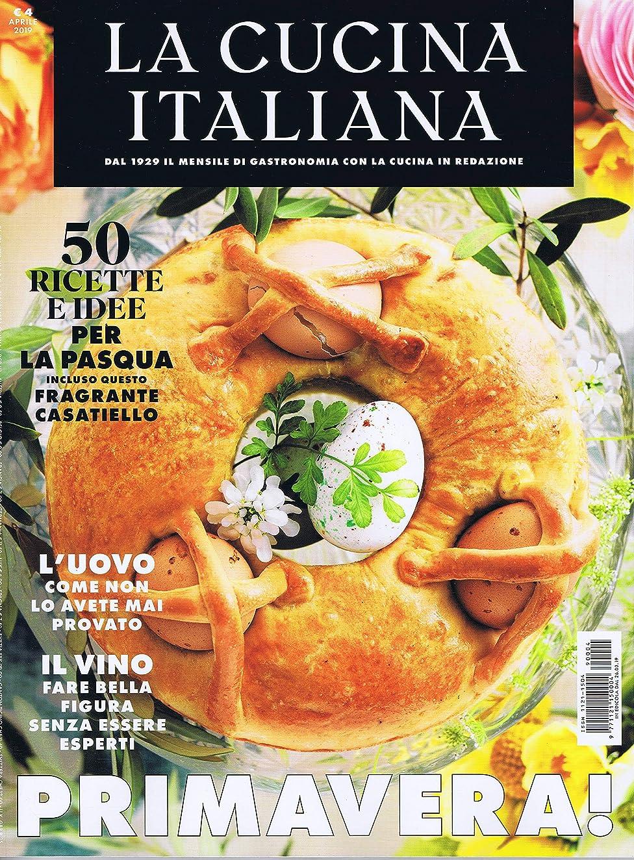 彼は葉を拾う二度La Cucina Italiana [IT] April 2019 (単号)
