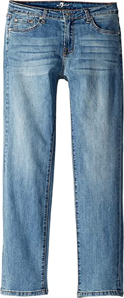 Slimmy Airweft Stretch Denim Jeans in Satellite Sky (Big Kids)