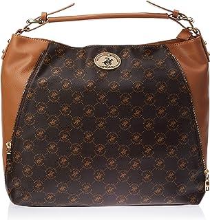 Beverly Hills Polo Club Handbag for Women- Brown