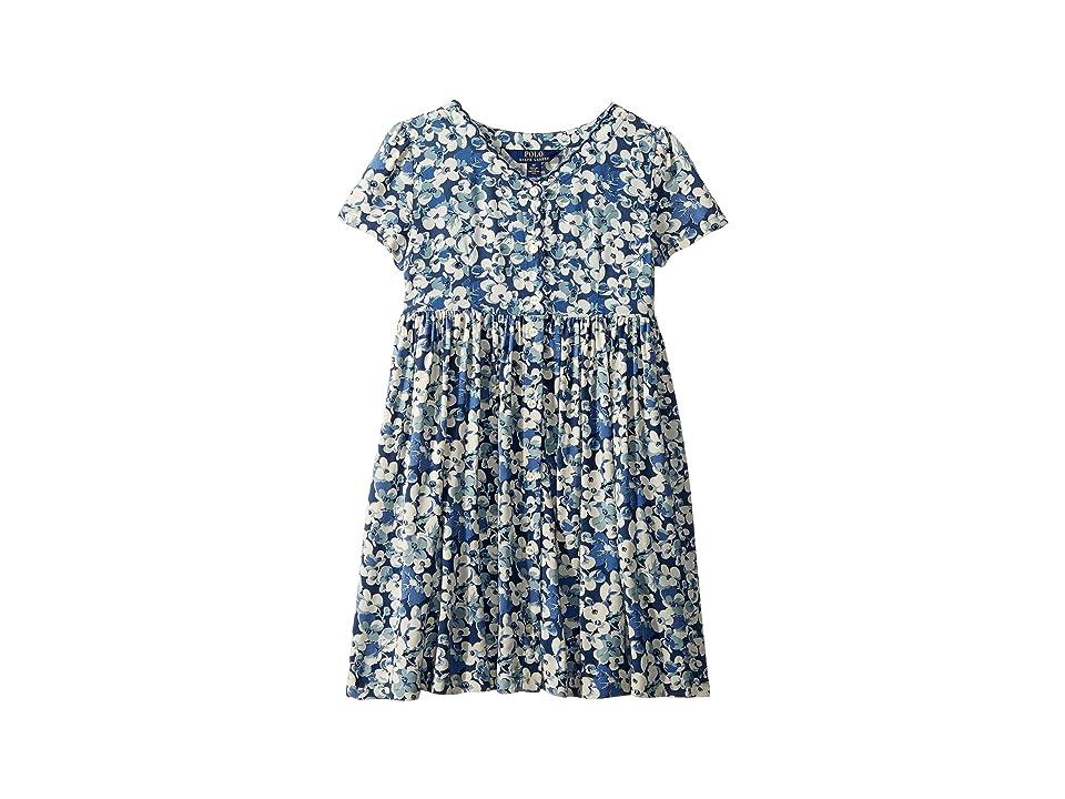 Polo Ralph Lauren Kids Floral Button-Front Dress (Little Kids) (Brant Point Floral) Girl