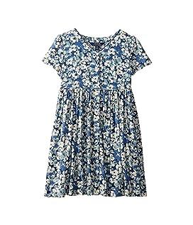 Floral Button-Front Dress (Little Kids)