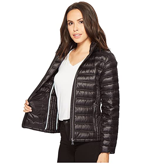 Calvin Klein Short Packable Down with Hood Black Buy Cheap Very Cheap New Release Cheap For Cheap DfEIZKQ