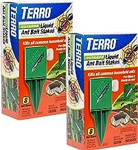 Terro T1812-2 Outdoor Liquid Ant Killer Bait Stakes (2 Pack)