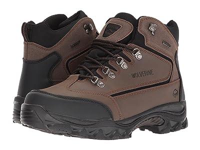 Wolverine Spencer Waterproof Hiking Boot (Brown/Black) Men