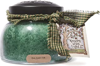 A Cheerful Giver Balsam Fir Mama Jar Candle, 22-Ounce