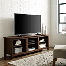 Home Accent Furnishings New 70 Inch Television Stand with Dark Walnut Finish