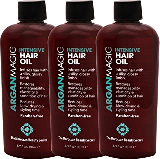 Argan Magic Intensive Hair Oil 3.75oz (3 Pack)