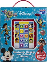 Disney - Mickey Mouse, Toy Story and More! Me Reader Electronic Reader 8 Sound Book Library- PI Kids