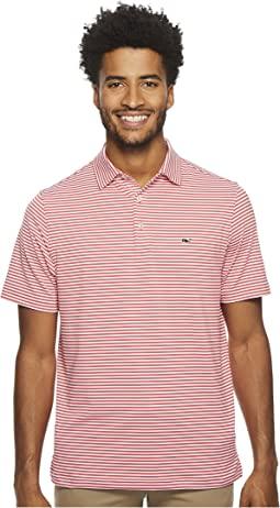 Winstead Stripe Sankaty Performance Polo