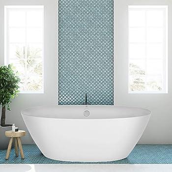 Empava EMPV-FT1503 71'' Acrylic Freestanding Tub