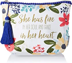 Mary Square She Has Fire in Her Soul Carryall Amelia Floral