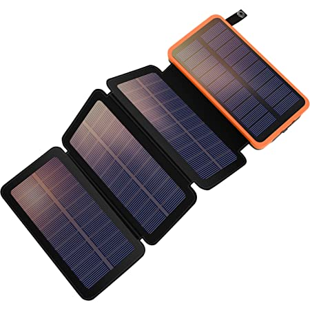 F Dorla 25 000 Mah Solar Power Bank With 4 Detachable Elektronik
