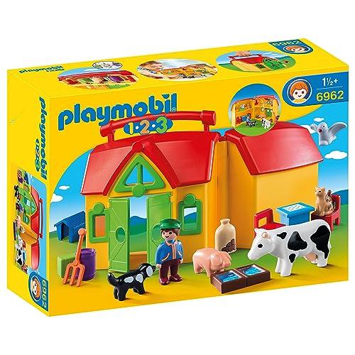 Playmobil 1.2.3 - 1.2.3 Mi Primera Granja (6962)