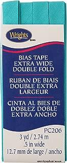 Wrights Aquamarine II Double Fold Bias Tape 1/2