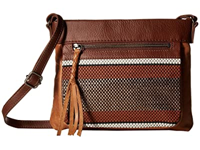 The Sak Sanibel Mini Crossbody (Bronze Penida) Cross Body Handbags