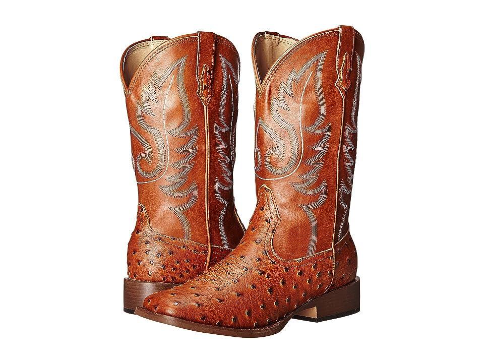 Roper Bumps (Light Beige) Cowboy Boots
