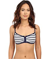Tommy Bahama - Mare Stripe Over The Shoulder Cup Bra