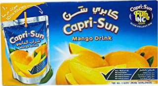 Capri Sun Mango Drink, 200 ml - Pack of 10