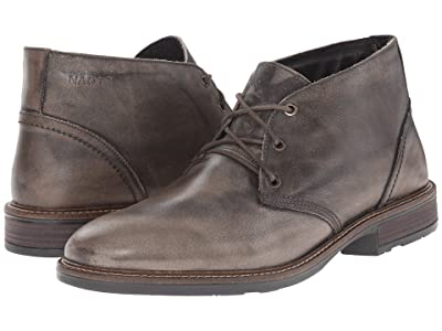 Naot Pilot (Vintage Gray Leather) Men
