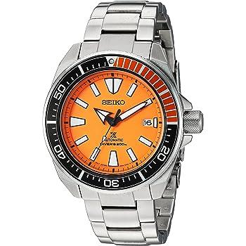 Seiko Men's SRPC07 Prospex Analog Display Automatic Self Wind Silver Watch
