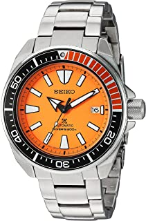 seiko orange bezel