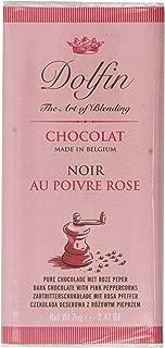 Dolfin - Chocolat Noir Au Poivre Rose Dark with Pink Peppercorns (2.5 ounce)