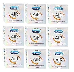 Durex Ulta Thin Condoms, Air- 3s