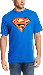 Superman Classic Logo Men's Royal Blue T-shirt