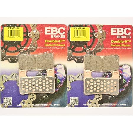 FITS SUZUKI GSXR 600 K8//K9//L0 08-10 EBC FRONT DISC BRAKE PAD PADS FA379HH