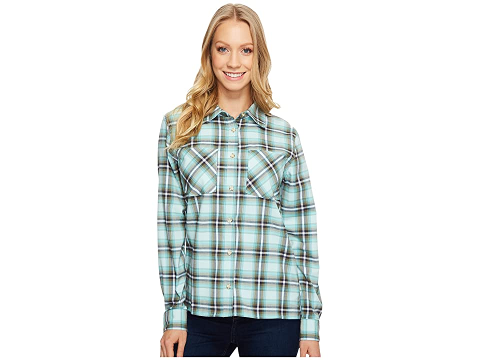 Mountain Hardwear Stretchstone Boyfriend Long Sleeve Shirt (Gossamer Blue) Women