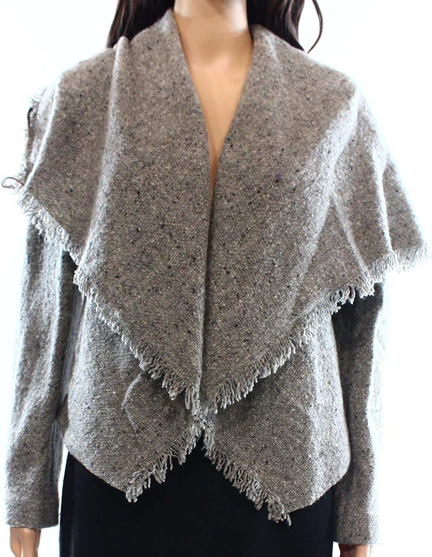 Ralph Lauren Womens Marled Knit Jacket