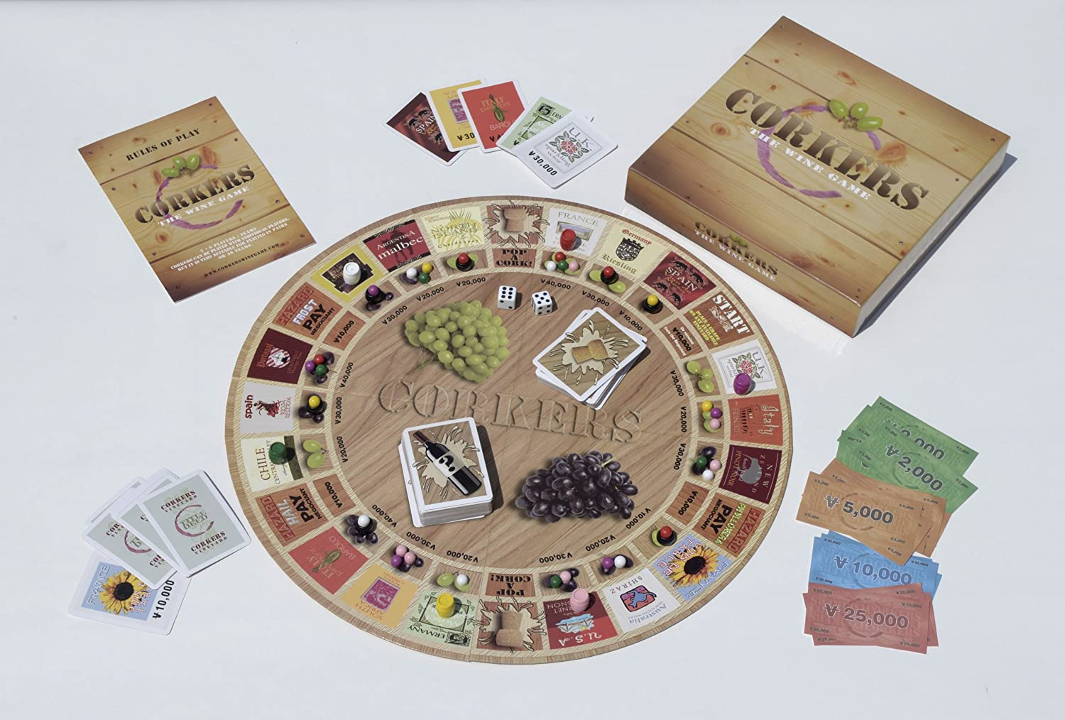Corkers Wine Game by corkerswinegame B00DQA8ICS Verkauf Online-Shop    Mode-Muster
