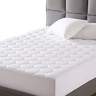 """EXQ Home Mattress Pad Twin XL Twin Extra Long Size Quilted Mattress Protector Fitted Sheet Mattress Cover for Bed Stretch Up to 18""""Deep Pocket (Breathable)"""
