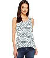 Cruel - Printed Georgette Tank Top