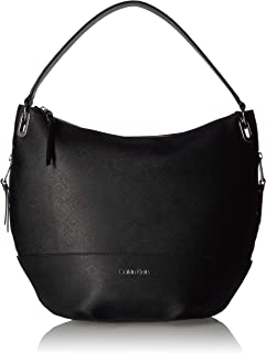Calvin Klein womens Calvin Klein Mercy Saffiano Leather Hobo