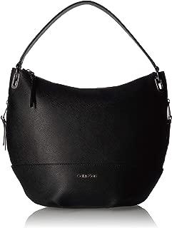 Mercy Saffiano Leather Hobo